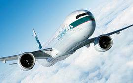 Cathay Pacific beste airline 2014