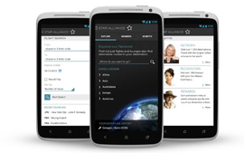 Nieuwe Android-app Star Alliance