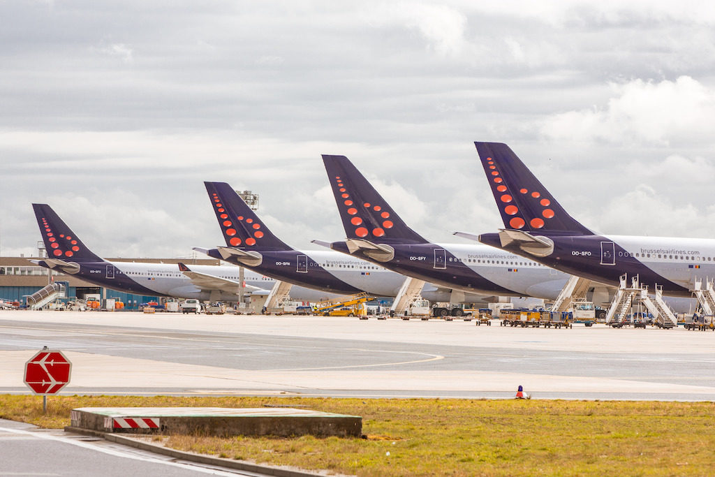 Brussels Airlines woensdag plat om nationale staking