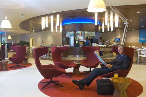 Conflict bonden met KLM over Crown Lounges