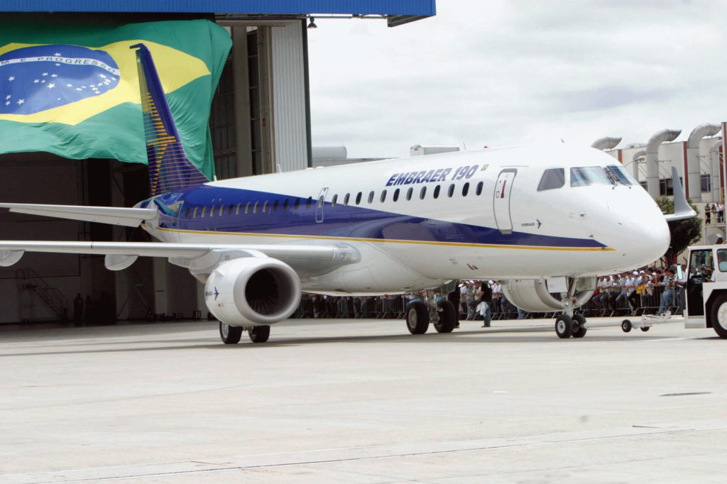 Belang Boeing in Embraer?