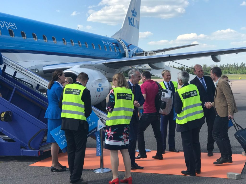 KLM's Corporate BioFuel Programma gaat internationaal