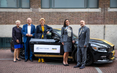 SkyTeam en Hertz partners