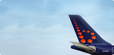 Brussels Airlines maand plat