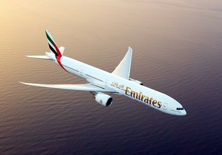 Lege vluchten Emirates vanuit Londen, Parijs en Brussel