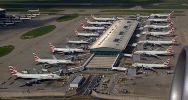 Heathrow: daling 97 procent