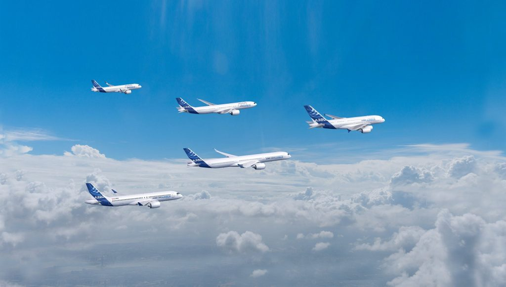 Airbus bouwt minder A350's