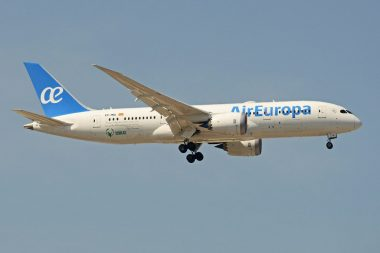 Air Europa voor een prikkie