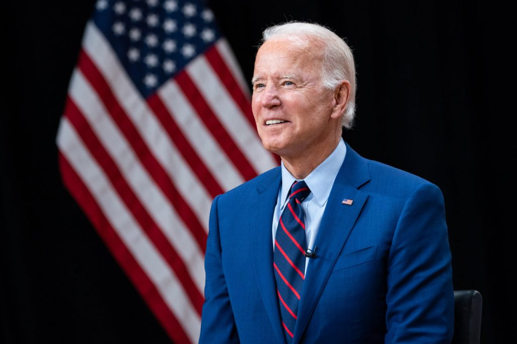 Joe Biden investeert in spoor