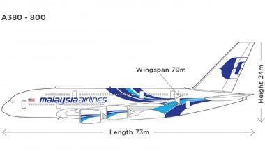Einde A380 Malaysia Airlines